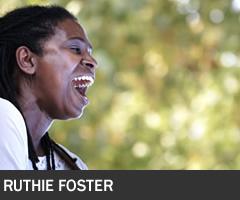 Ruthie Foster 240x200