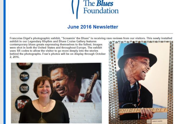 160615 Blues Foundation June newsletter